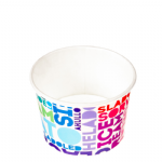 TYPE 450 520ml Ice Cream Cup - Text